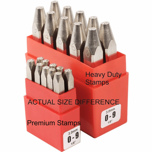 Heavy Duty Number Set