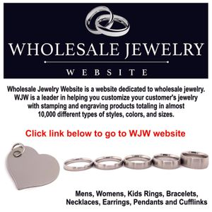 For Ring and Pendant Blanks Shop WJW