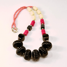 Raspberry Hooray Necklace