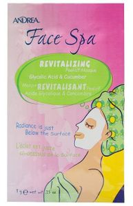 Andrea Face Spa, Revitalizing Peel-Off Mask, 1 Packet