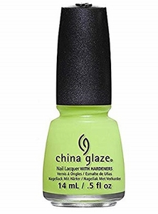 China Glaze Nail Polish, Grass Is Lime Greener 1300