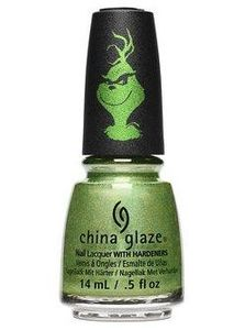 China Glaze Nail Polish, Grinchworthy 1639