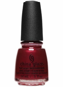 China Glaze Matte Nail Polish, Haute Blooded 1621