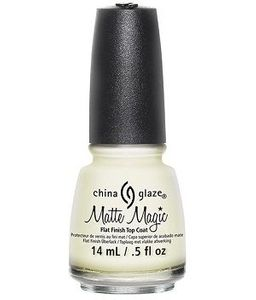 China Glaze Matte Magic Top Coat, .50 oz.