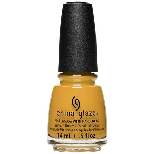 China Glaze Nail Polish, Mustard The Courage 1632