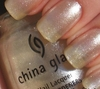 China Glaze Nail Polish, Straight Up CGT426