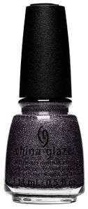 China Glaze Textured Nail Polish, You've Got Blackmail 1690