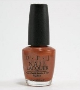 OPI Nail Polish, Basque In The Sun NLE12