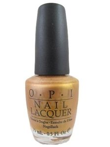 OPI Nail Polish, Golden Rules NLB63