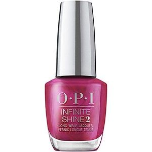 OPI Infinite Shine Lacquer, Merry In Cranberry HRM42