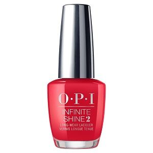OPI Infinite Shine Lacquer, Red Heads Ahead ISLU13