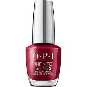 OPI Infinite Shine Lacquer, Red-y For The Holidays HRM43