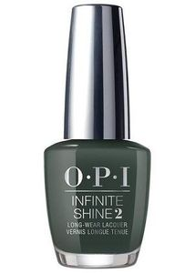 OPI Infinite Shine Lacquer, Things I've Seen In Aber-green ISLU15