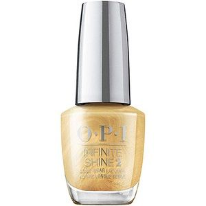 OPI Infinite Shine Lacquer, This Gold Sleighs Me HRM40