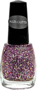 Sation Multi-Glitter Nail Polish, Miss Pro-nup 3002