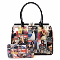 Michelle Obama Sophisticated Lady w/Wallet