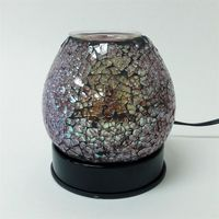 Mosiac Electric Touch Aroma Lamp FREE FRAGRANCE