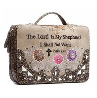 THE LORD IS MY SHEPHERD BIBLE CASE