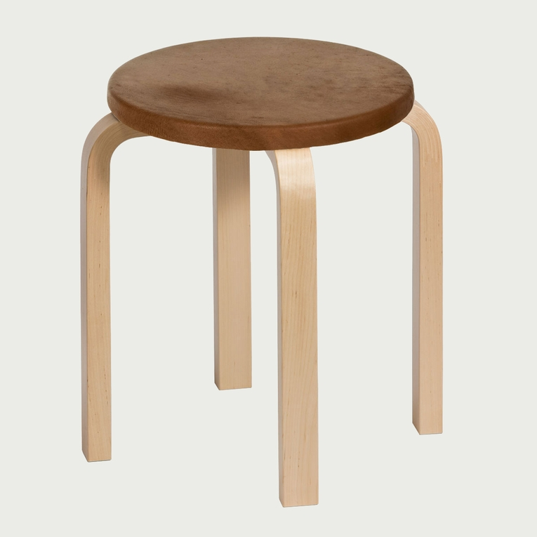 Artek Alvar Aalto E60 - Four Legged Stools - Your Own Materials