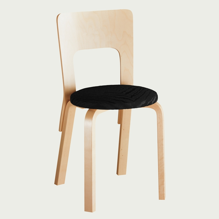 Artek Alvar Aalto - High Back Chair 66 - Your Own Materials