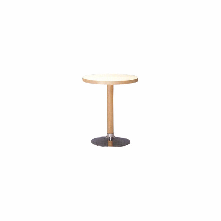 Artek Alvar Aalto - Small Pedestal Table P90C - Chrome Base