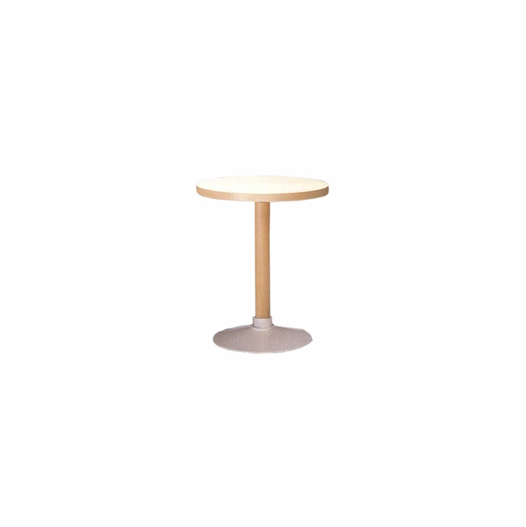 Artek Alvar Aalto - Small Pedestal Table P90C - White Base