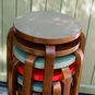 Artek Alvar Aalto - Three-Legged Stool 60 - Walnut Stained