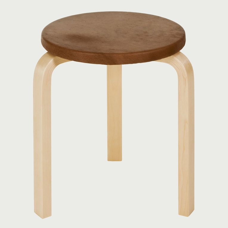 Artek Alvar Aalto - Three-Legged Stool 60 - Your Own Materials
