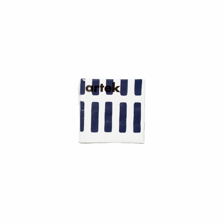 Artek Siena White/Blue Small Paper Napkins
