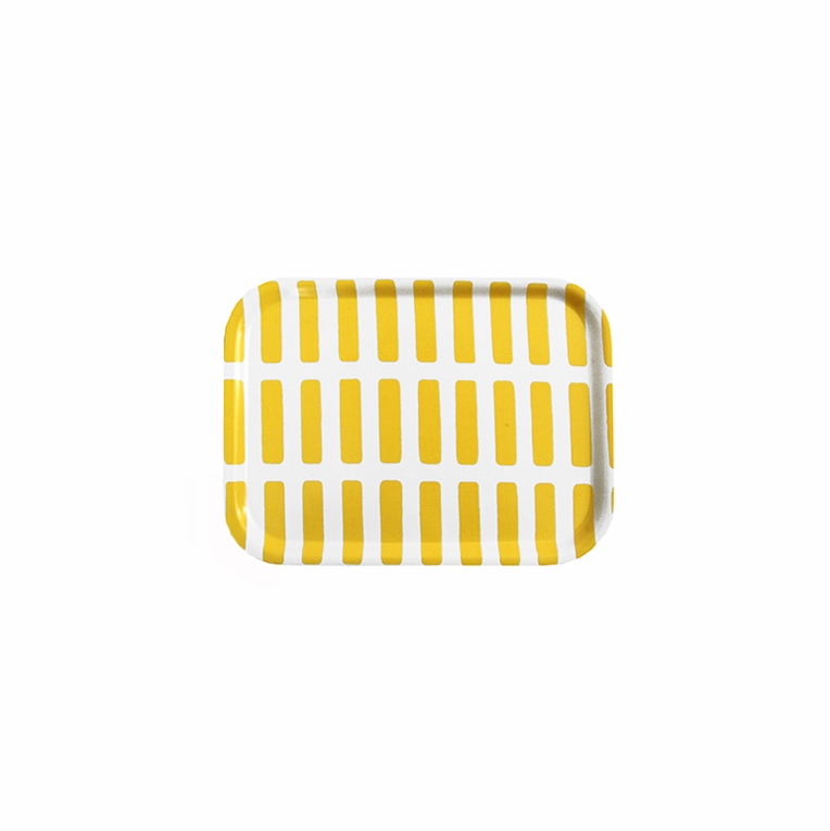 Artek Siena White/Yellow Small Tray