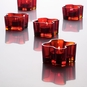 Iittala Aalto Flaming Red Votive Candle Holder