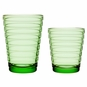 iittala Aino Aalto Apple Medium Green Tumblers - Set of 2