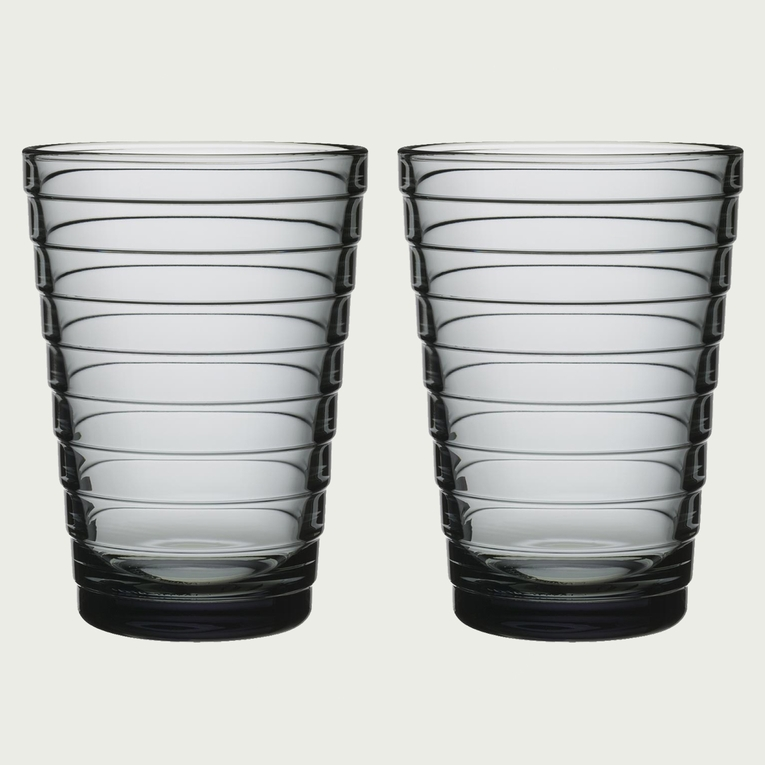 Iittala Aino Aalto Grey Tumblers - Set of 2