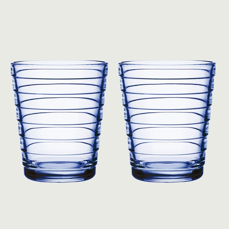 iittala Aino Aalto Aqua Medium Tumblers - Set of 2