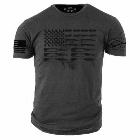 Ammo Flag Grey (S-XL $19.99) (2X/3X $21.99)