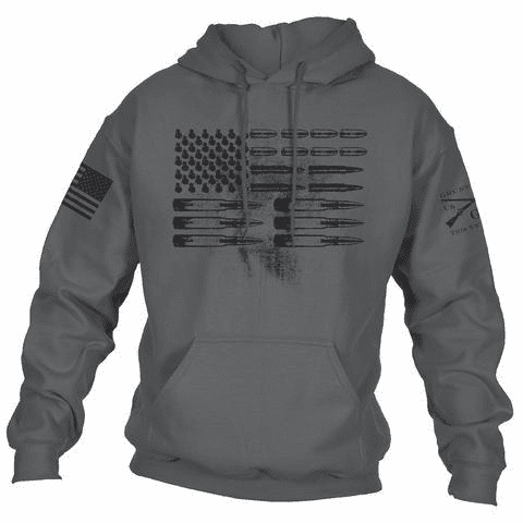 Ammo Flag Hoodie Grey (Starting at $29.99)