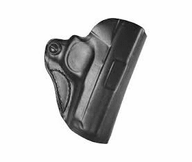 DeSantis 019 S&W Bodyguard .380 Mini Scabbard Belt Holster Right Hand Leather