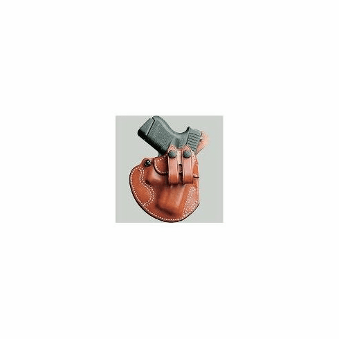 DeSantis 028 Glock 26, 27, 33, Walther PPS Cozy Partner Inside the Pant Right Hand Leather BLACK