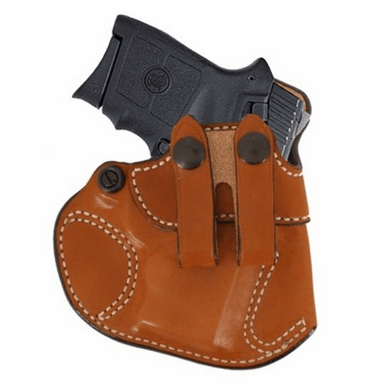 DeSantis 028 S&W J-Frame, Taurus 85 Cozy Partner Inside the Pant Right Hand Leather Tan