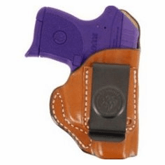 DeSantis 045 KelTec P-3AT, Ruger LCP Summer Heat Inside the Pant Holster Right Hand Tan Leather