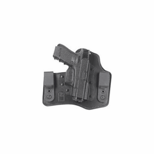 DeSantis 105 S&W M&P 9/40, M&P Compact The Intruder Inside the Pant Right Hand Leather/Kydex Black