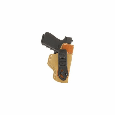 Desantis 106 Sof-Tuck Inside the Pant Right Hand Tan P-3AT/Ruger LCP Leather 106NAR7Z0