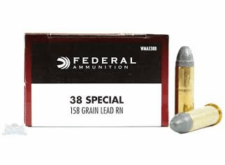 Federal 38 special 158 grain lead (wmae388) IN STOCK