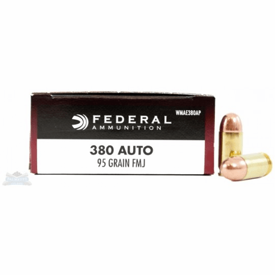 Federal Champion  380 auto 95 grain FMJ box of 50 (wmae380ap) IN STOCK