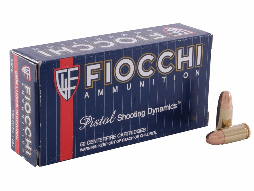 Fiocchi .380  115 grs. FMJ 50rnd box New In stock
