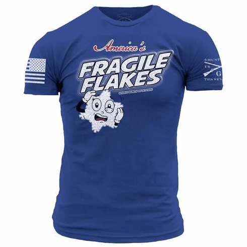 Fragile Flakes (S-XL $21.99) (2X/3X $24.99)