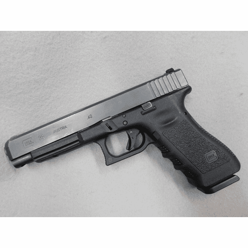 Glock 35 with three mags .40, Used nice condition