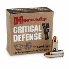 Hornady Critical Defense 115 Gr FTX