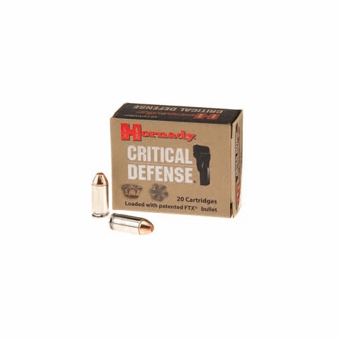 Hornady Critical Defense 165 Gr FTX