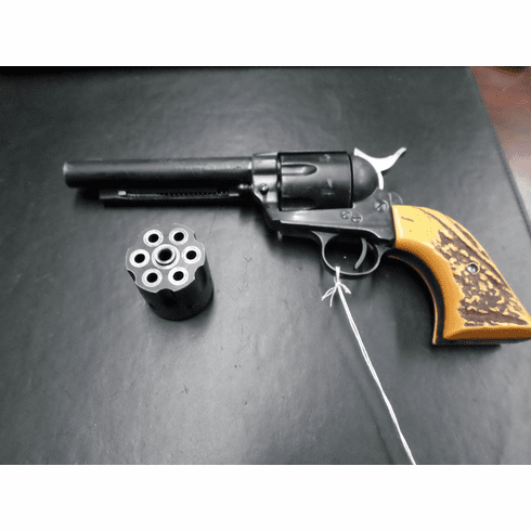 J.P. Sauer & Sohn Manufactured / Hawes firearms imported western sixshooter .22 LR and Magnum convertible.